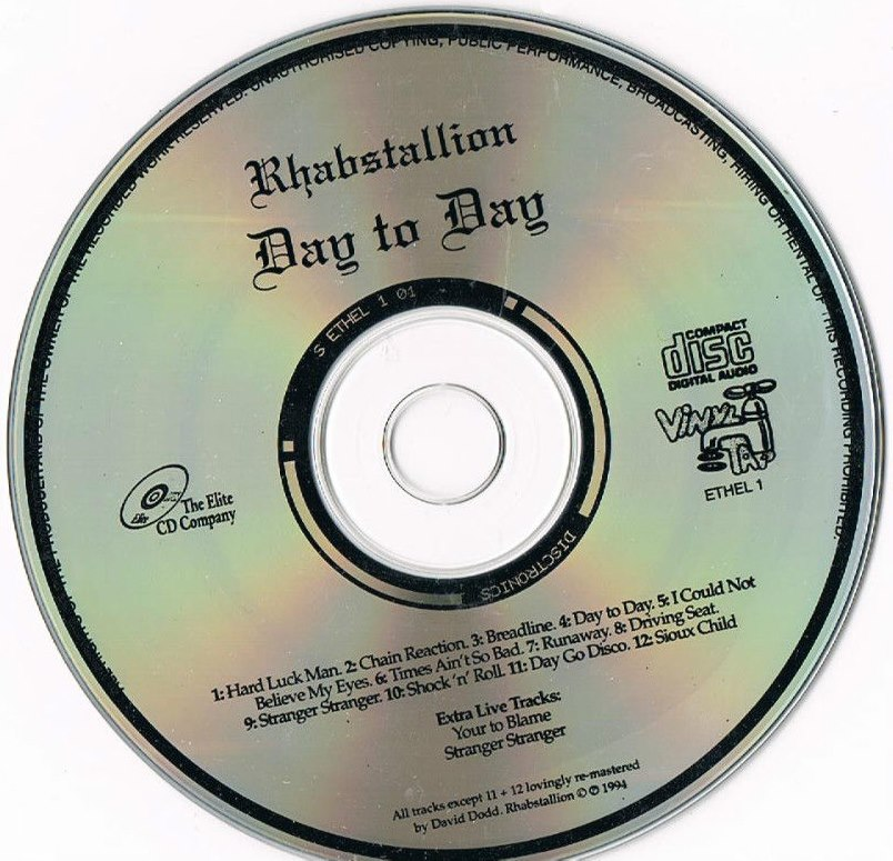 Rhabstallion - Day to Day